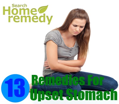 13 Home Remedies For Upset Stomach
