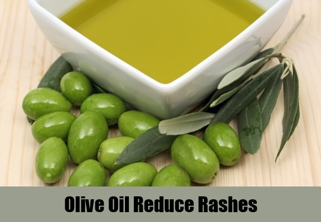 Olive Oil Reduce Rashes