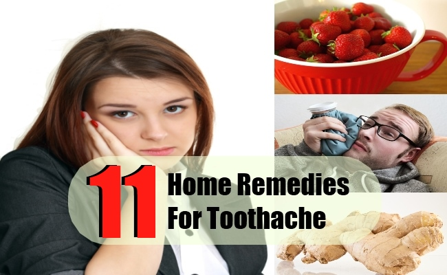 11 Home Remedies For Toothache