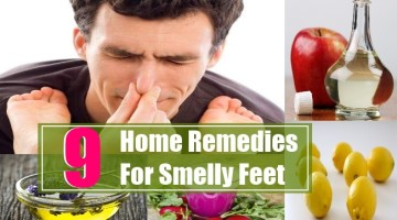 9 Home Remedies For Smelly Feet
