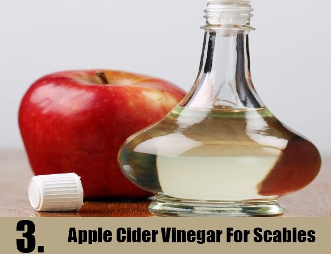 Apple Cider Vinegar For Scabies