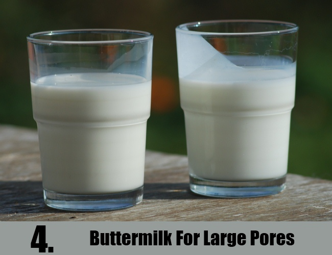 Buttermilk For Large Pores