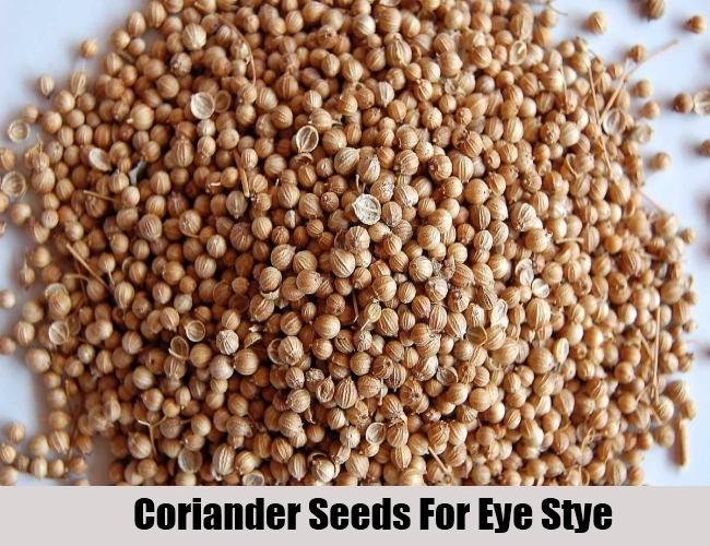Coriander Seeds For Eye Stye