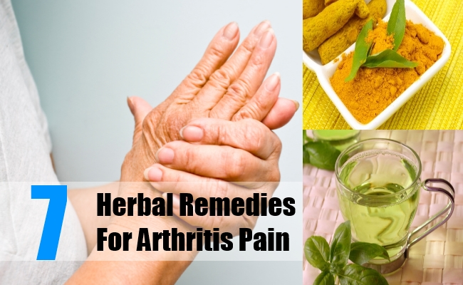 7 Herbal Remedies For Arthritis Pain Search Home Remedy