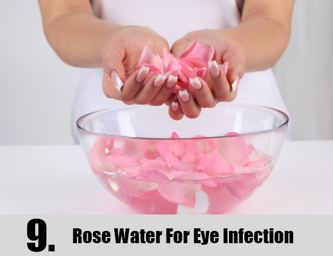 Rose Water For Eye Infection