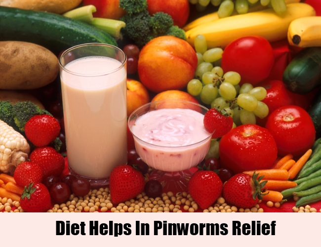 Diet Helps In Pinworms Relief