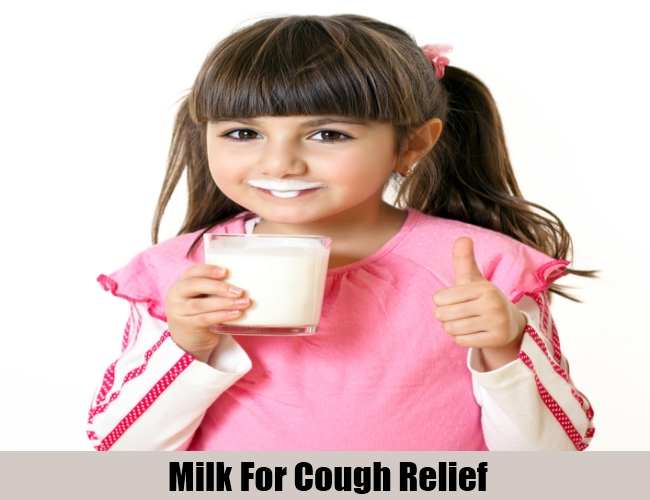 Milk For Cough Relief