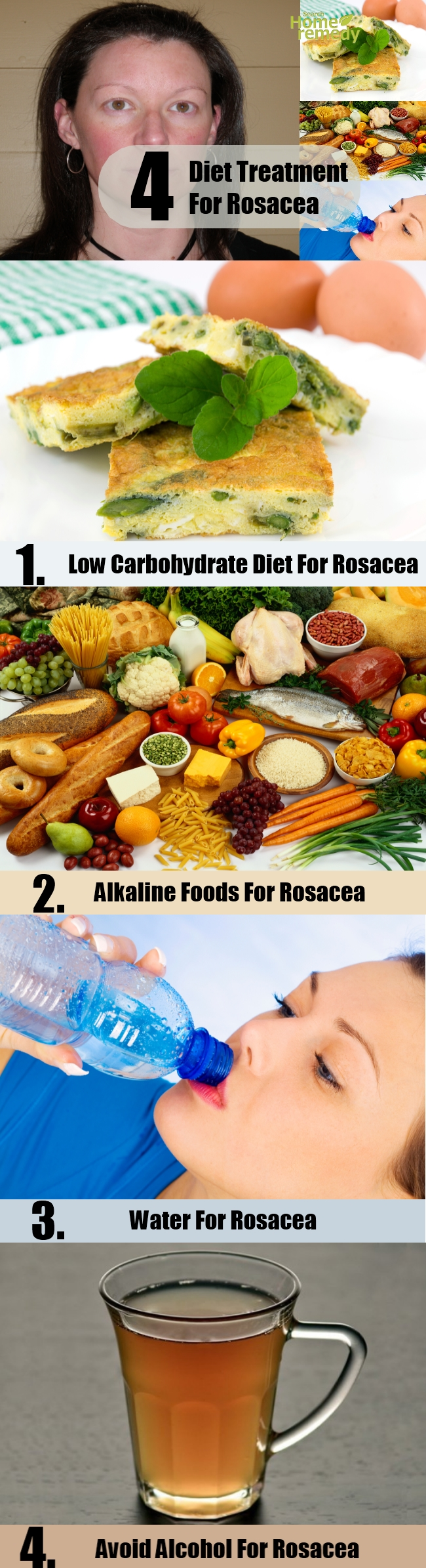 4 Diet Treatment For Rosacea