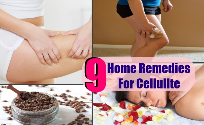 9 Home Remedies For Cellulite