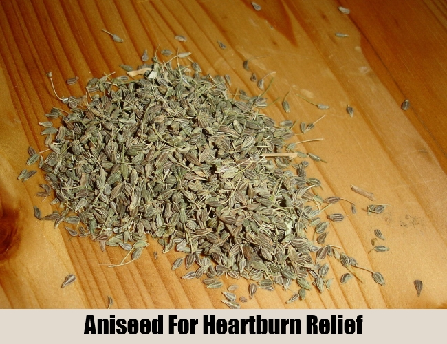 Aniseed For Heartburn Relief
