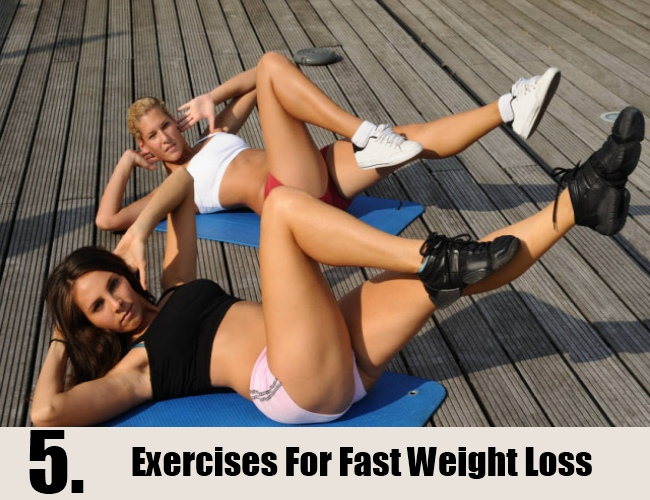 Exercises For Fast Weight Loss