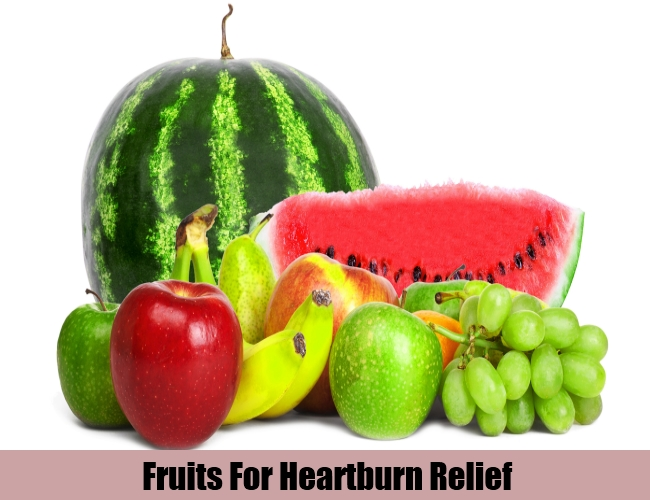 Fruits For Heartburn Relief