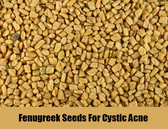 Fenugreek Seeds For Cystic Acne