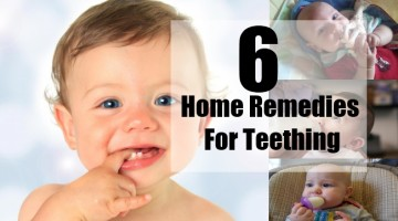 Home Remedies For Teething