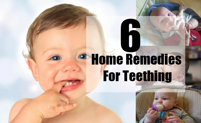 6 Home Remedies For Teething Natural Treatments Amp Cure