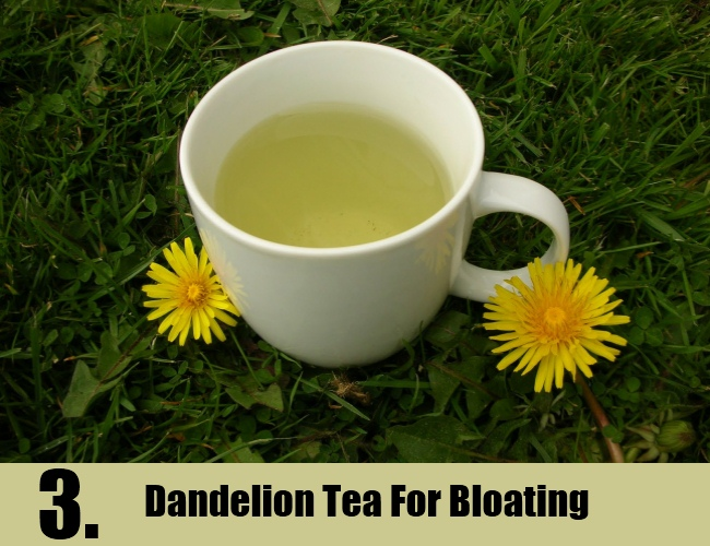 Dandelion Tea For Bloating