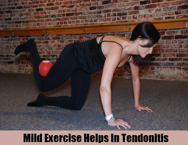 Mild Exercise Helps In Tendonitis