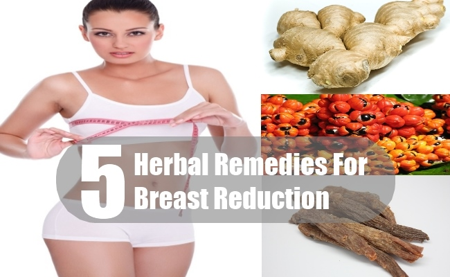 5 Herbal Remedies For Breast Reduction