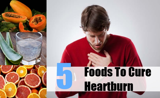 Foods To Cure Heartburn
