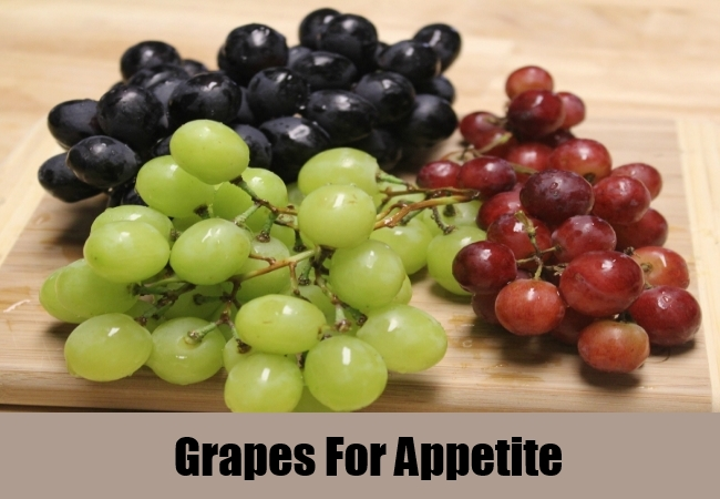 Grapes For Appetite