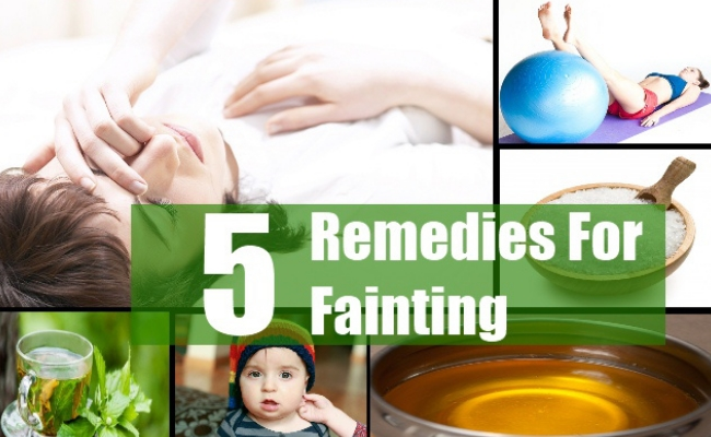 Home Remedies For Fainting