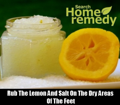 Lemon And Salt Scrub