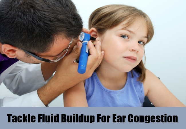how to clear ear congestion naturally