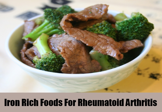 Iron Rich Foods For Rheumatoid Arthritis