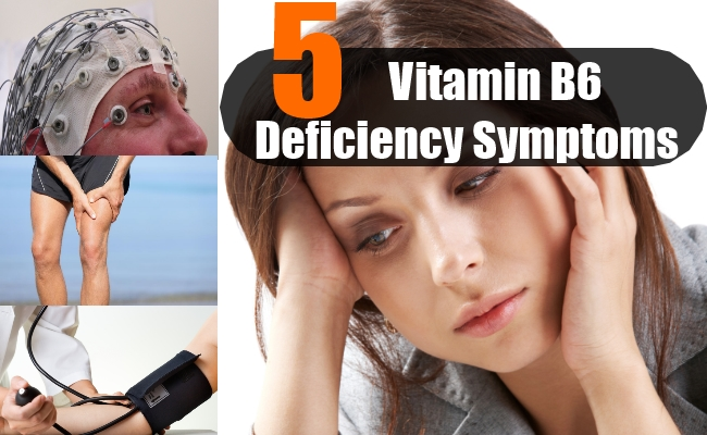 Vitamin B6 Deficiency Symptoms