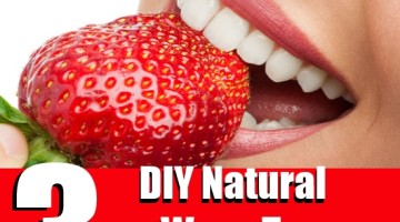 DIY Natural Ways To Whiten Teeth