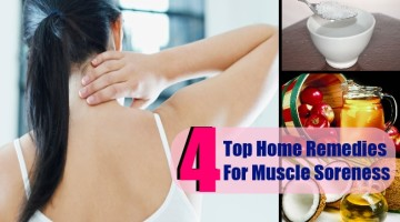 4 Top Home Remedies For Muscle Soreness