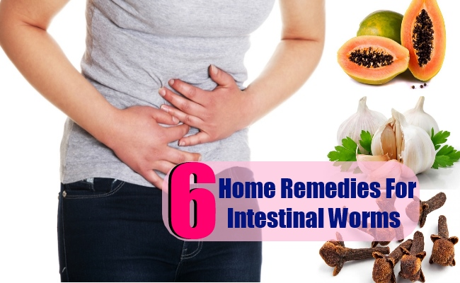 6 Amazing Home Remedies For Intestinal Worms