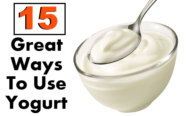 15 Great Ways To Use Yogurt