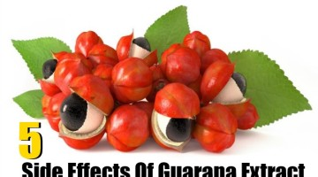 Side Effects Of Guarana Extract