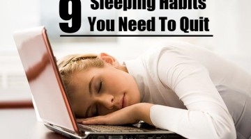 Sleeping Habits You Need To Quit