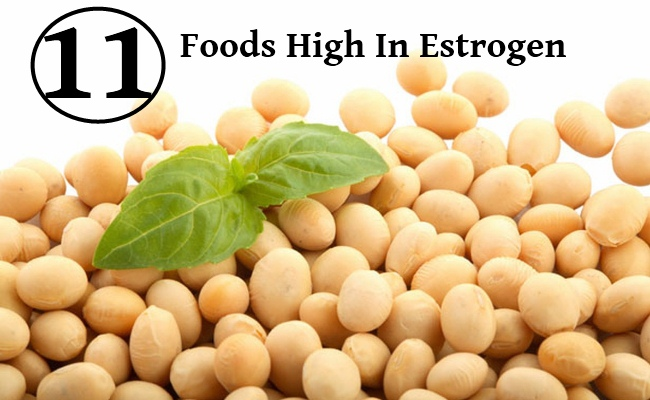 Foods With Natural Estrogen In Them