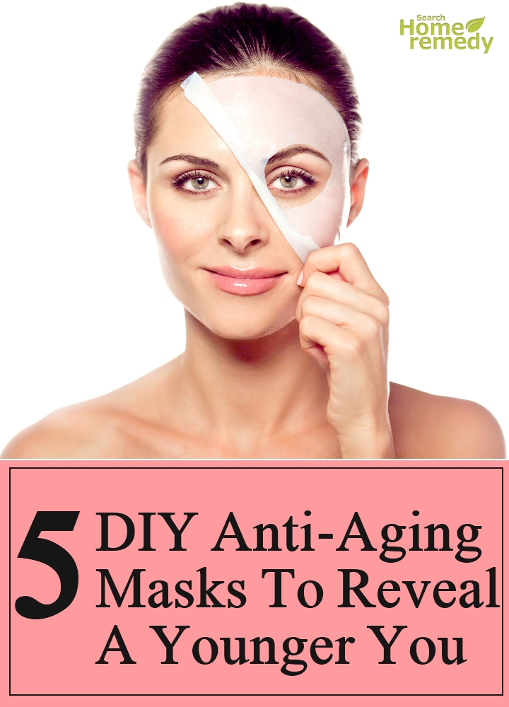 DIY Anti-Aging Masks To Reveal A Younger You