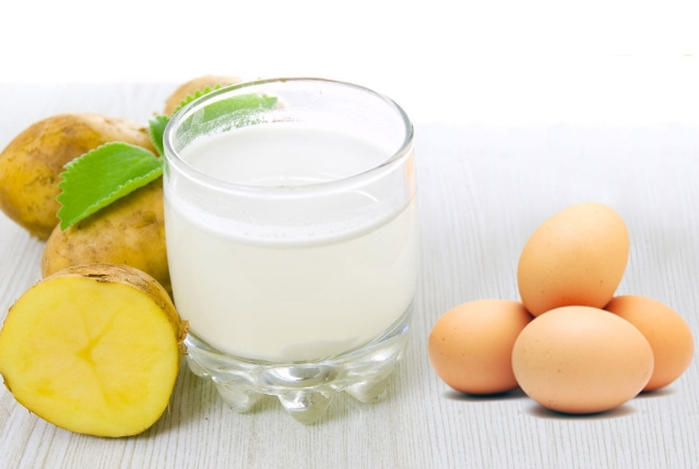 Potato Juice With Egg