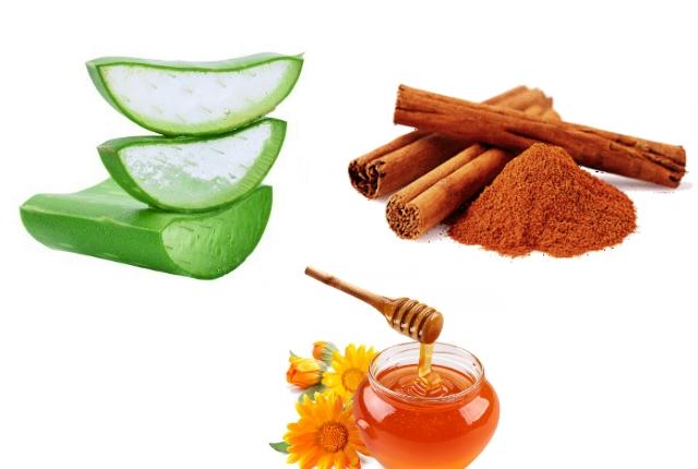 "Aloe Vera, Honey, And Cinnamon"""